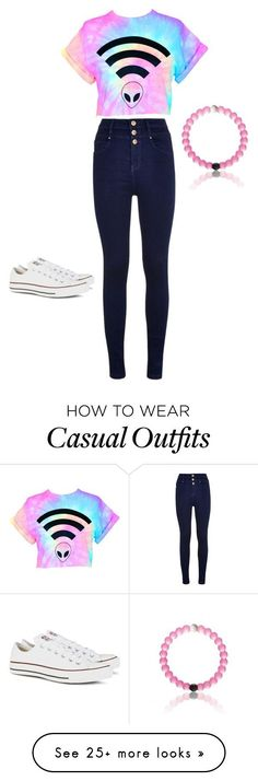 Casual and sassy by zronkin on Polyvore featuring Converse