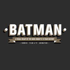 ¡ Batman cumple 75 años !, Infografía de su evolución - http://be-openminded.com/batman-cumple-75-infografia/?http://be-openminded.com/?utm_source=essb&utm_medium=SMA&utm_campaign=Pinterest   -  Be-OpenMinded -