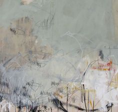live in it  • 48w x 50h •  mixed media on canvas • 2010 -by Jason Craighead