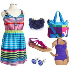 lets go to the beach #plus size fashion