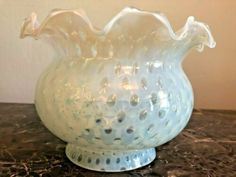 Opalescent Cranberry Swirl Gas Shade Oil Globe Light Fixture Replacement