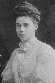 Grand Duchess Xenia Alexandrovna, sister of Nicholas II.