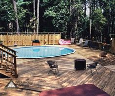 above ground pool decks with privacy related image with above ground pool deck with privacy