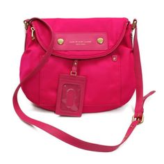Marc By Marc Jacobs Pop Pink Nylon Swing/ Cross Body Bag (Pink) #M3122154