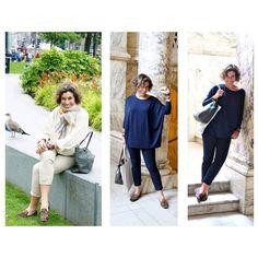 We are Pretty Happy! Acompanhando o blog da Consuelo Blocker, que tanto amamos, identificamos um dos Pretty Loafers da Pretty Ballerinas em seus pezinhos, em 2 looks diferentes! Amamos! #prettyballerinas #prettyballerinasbrasil #prettyloafers #consueloblocker #consueloblog #edimburgo