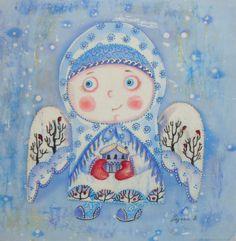 Купить Зимний ангел в интернет магазине на Ярмарке Мастеров