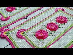 Tapete de crochê Doce encanto 1°parte - YouTube