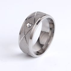 Find More Rings Information about wholesale 8mm Wire drawing Fringe Single rhinestone for men 316l Stainless Steel finger rings,High Quality rhinestone hotfix,China rhinestone owl ring Suppliers, Cheap rhinestone buckle for invitations from Chinese Jewelry Factory,Wholesale From Yiwu China on Aliexpress.com