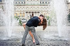 Baltimore City Engagement Session : Ashley and Bryan