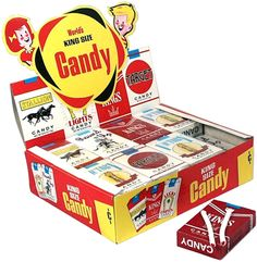 Could you imagine if they tried selling candy cigarettes nowadays?!?