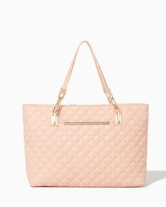 charming charlie | Karalyn Quilted Tote #charmingcharlie