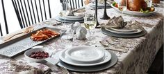 The Most Elegant Thanksgiving Table Settings   Home Inspiration Ideas http://homeinspirationideas.net/