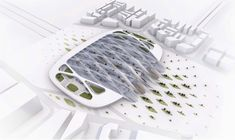 UNStudio unveils modular concept station for European hyperloop European Transport, Design Your Home, House Design, Un Studio, Bus Station, Home Pictures, Dezeen, Design Trends, Design Ideas