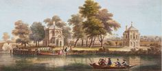 A View of the Duke of Marlborough's Island situate on the River Thames between Maidenhead Bridge and Windsor