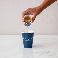 Ertrunken im Kaffee - Grom - Caffè - Affogato, Tableware, Kaffee, Drown, Dinnerware, Dishes, Serveware