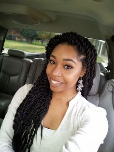 Senegalese style braids