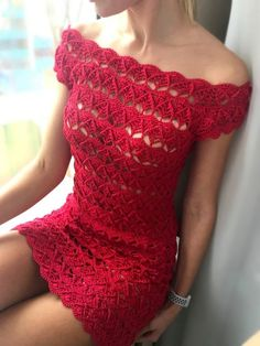 Knit Crochet Skirt Pattern with Crochet Dress Pattern For One Year Old Beau Crochet, Pull Crochet, Crochet Lace Dress, Knit Dress, Knit Crochet, Crochet Mini Dresses, Crochet Kits, Boy Dress, Crochet Style