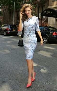 f68b936e2b The European and American Style Floral Improved Cheongsam Miranda Kerr Style