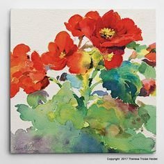 Begonia I is now available online as a canvas print at Laurel and Wolf, Los Angeles, CA