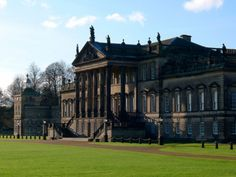 Wentworth Woodhouse in South Yorkshire is the largest privately owned home in Europe. The listed building was once home to the Fourth Earl Fitzwilliam who is thought to have inspired Jane Austen's much-lusted after character Mr Darcy. South Yorkshire, Yorkshire England, Wentworth Woodhouse, English Manor, English Cottages, English Countryside, Listed Building, Country Estate, Pride And Prejudice