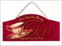 Tea Time Sign! Tea anyone?