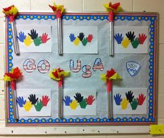 Winter Olympics or Summer Olympics Bulletin Board. Craft Activities For Kids, Crafts For Kids, First Grade Themes, Hand Outline, Classroom Bulletin Boards, Summer Olympics, Early Childhood Education, Summer School, Board Ideas