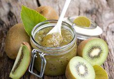 Melon Jelly Recipes, Kiwi Jam, Jam Recipes, Canning Recipes, Dessert Recipes, Freezer Jam, Jam And Jelly, Recipes, Marmalade