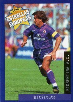 Gabriel Batistuta (ARG) Soccer Cards, Baseball Cards, Gabriel, Sports, Portrait, Stars, Europe, Hs Sports, Archangel Gabriel