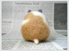Hamster's butt