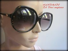 Womans 70s sunglasses Da Vinci HandMade by VintageStorePlace