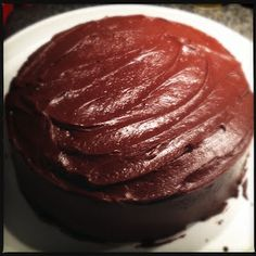SOUNDING MY BARBARIC GULP!: Self-Medicating with Chocolate Cake