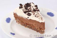 Frusen chokladtårta - Recept - Recepten.se Tiramisu, Cheesecake, Pie, Kaffe, Ethnic Recipes, Food, Punch, Bakken, Cheesecake Cake