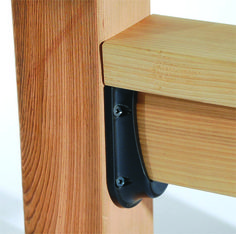 Deck Railing Connectors by Solutions at Home and Hardware Depot : Deck Railing Connectors by Solutions at Home and Hardware Depot Deck Stairs, Deck Railings, Balcony Railing, Deck Repair, Home Repair, Railing Design, Deck Design, Railing Ideas, Deck Building Plans