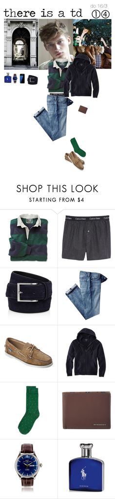 """""""there is a td"""" by adelaidesmitha ❤ liked on Polyvore featuring Paul Frank, Calvin Klein Underwear, To Boot New York, 7 For All Mankind, Sebago, L.L.Bean, Topman, Burberry, Samsung and Ralph Lauren"""
