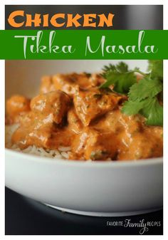 We love Chicken Tikka Masala! We make this recipe all the time -- it is a regular at our house. Even the kids love it!