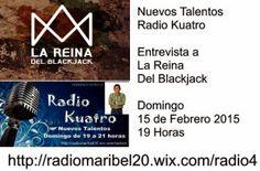 opinión-debate: Nuevos Talentos (15/02/15) Entrevista a La Reina d...