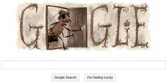 Google Doodle celebrates Franz Kafka with a cockroach