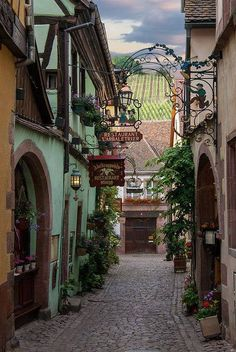 looks like the Alsace to me, I must spend more time there this year!