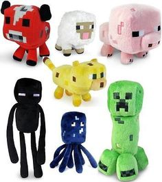 Increase traffic to your listing with Auctiva's FREE Scrolling Gallery. Minecraft Animal Plush Toys Stuffed animals Soft Toy Plushies Pictures sell! Auctiva Free Image Hosting. Auctiva, THE simple sol