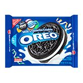 US version of Original Oreo Cookie are vegan!!    Ingredients: SUGAR, UNBLEACHED ENRICHED FLOUR (WHEAT FLOUR, NIACIN, REDUCED IRON, THIAMINE MONONITRATE {VITAMIN B1}, RIBOFLAVIN {VITAMIN B2}, FOLIC ACID), HIGH OLEIC CANOLA AND/OR PALM OIL, COCOA (PROCESSED WITH ALKALI), HIGH FRUCTOSE CORN SYRUP, CORNSTARCH, LEAVENING (BAKING SODA AND/OR CALCIUM PHOSPHATE), SALT, SOY LECITHIN, VANILLIN--AN ARTIFICIAL FLAVOR, CHOCOLATE. CONTAINS: WHEAT, SOY.