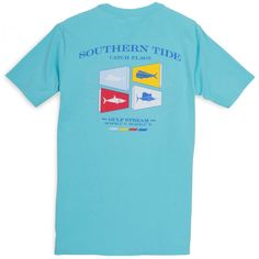 Southern Tide Catch Flags Tee // yeahTHATgreenville