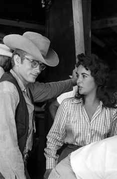 james dean and elizabeth taylor