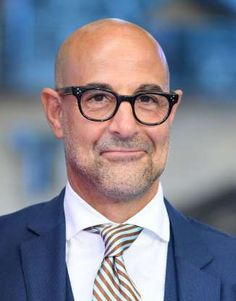 Here's What These 16 Famous Bald Actors Looked Like When They Had Hair Bald Actors, Bald Look, Stanley Tucci, Legendary Pictures, Wispy Hair, Terry Crews, Going Bald, Dwayne The Rock, Billy Joel