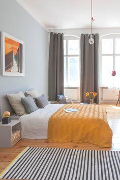 """Un apartamento """"Masculino"""" en Berlin   La Bici Azul: Blog de decoración, tendencias, DIY, recetas y arte"""
