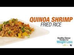 Quinoa Shrimp Fried Rice - Healthy Dinner Recipes for Weight Loss - BPI Sports - http://www.quickhealthyweightlosstips.com/weight-loss-recipes/quinoa-shrimp-fried-rice-healthy-dinner-recipes-for-weight-loss-bpi-sports/
