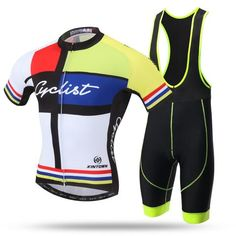 MONDRIAN Short Sleeve Cycling Jersey Set