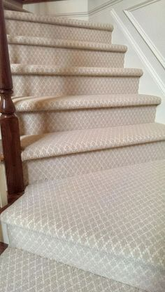 Patterned Carpet for Stairs . Patterned Carpet for Stairs . Another Beautiful Patterned Kane Carpet Stair Installation Best Carpet, Diy Carpet, Rugs On Carpet, Modern Carpet, Hall Carpet, Sisal Carpet, Plush Carpet, Patterned Stair Carpet, Textured Carpet