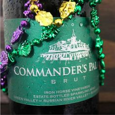Carnival is not a day, but a whole season in New Orleans, and who better to cheer with than the Executive Chef at Commander's Palace.