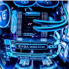 Wow, just wow. I love the blue. You got to check out this PC Rig!!