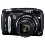 Canon PowerShot SX120IS 10MP Digital Camera with 10x Optical Images Stabilized Zoom and 3-inch LCD (Electronics)By Canon
